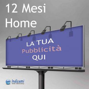 Pubblicità Home 12 Mesi - Banner Home 12 Mesi