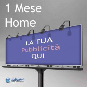 Pubblicità Home 1 Mese - Banner Home